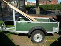 Heavy duty Trailer newly renovated and ready for work 6ft x 4ft £245
