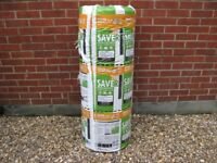 Knauf 200mm Loft Insulation. 5.50m2 per roll. Ecose. Saver Value. Super Top Up. £100 for all 8 rolls