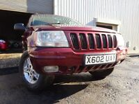 💥2000 JEEP GRAND CHEROKEE 3.1 DIESEL 4X4AUTOMATIC,MOT SEPT 017,2 KEYS,PART HISTORY,VERY RELIABLE