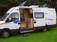 motorhome ,camper van hire,cheapest in the north east
