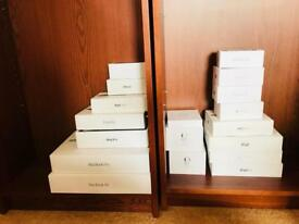 Apple MacBook Ipad iPhone empty boxes for sale