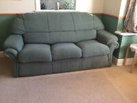 As new 3 Seater Sofa Bed. Metal Action Klausner Designer Bed Settee