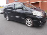 Toyota Alphard 2.4 5dr AUTOMATIC 7 SEATS FRESH IMPORT 2006
