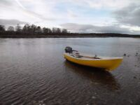 14 foot open boat with 15hp engine