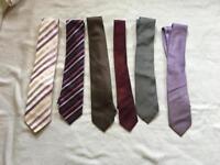 Hugo boss. Next etc men's ties used £10