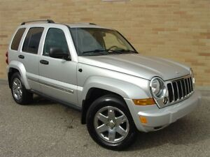 2006 Jeep Liberty Limited 4X4. Loaded! Leather! Navigation!