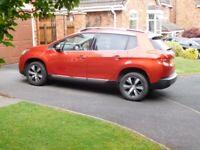 Peugeot 2008, Allure Hatchback, 2015, Manual, petrol 1598 (cc), 5 doors