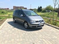 PCO Registered SEAT Alhambra 7 Seater Automatic Only £2995