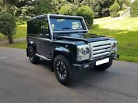 2009 LAND ROVER DEFENDER 90 TDCI COUNTY