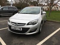 2012 62' Plate NEW SHAPE Vauxhall Astra - 1.4 PETROL, Exclusiv Model, Silver, 1 Years MOT, VGC