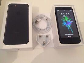 Iphone 7 Matt Black - Mint condition - 128GB