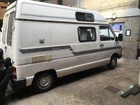 4 berth campervan build by Renault
