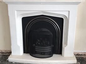 SOLD - Gas Fire, surround and guard