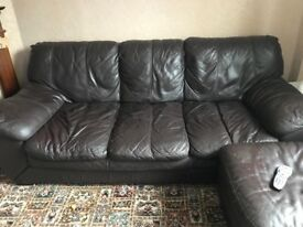 FREE for collection leather sofa