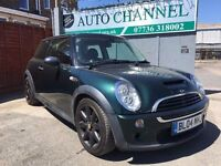 MINI Hatch 1.6 Cooper S 3dr£2,445 p/x welcome FREE WARRANTY. NEW MOT