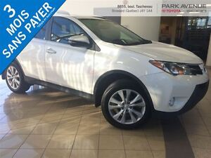 2013 Toyota RAV4 Limited*CUIR ROUGE