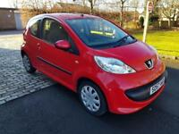 PEUGEOT 107 1.0 Urban 3dr (red) 2007