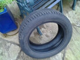 Michelin Car Tyre. 205 / 55 R16 Radial Tubless, in good condition.