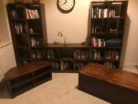 John Lewis Furniture Set (book cases, tv stand & coffee table)