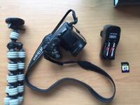 Nikon COOLPIX L320 + Tripod + Charger & Rechargeable Batteries
