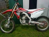 Crf 250 2014 mint condition for age PRICE DROP !!