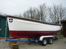 FOR SALE: 16' TREEVE BUILT TO SEAFISH SPECIFICATION