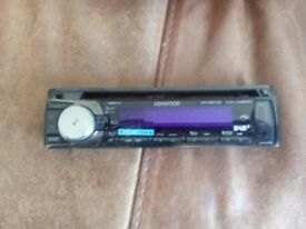 Kenwood DAB car radio / CD player