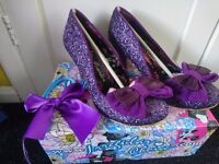Rare / limited edition irregular choice ban joes size 4 / 37 and 7 / 41