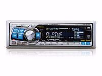 ALPINE CD /MP3 /WMA Receiver/Changer Controlled - CDA-9812RB MediaXpander™ REMOTE CONTROL -included