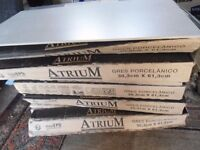 atrium gres porcelanico tiles from spain brand new still in box surplus to requirement