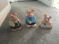 NATWEST PIGS - SET OF 3