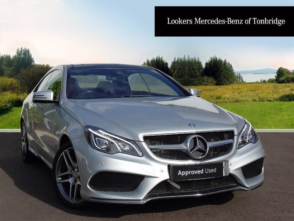 Mercedes-Benz E Class E350 BLUETEC AMG LINE (silver) 2015-09-04