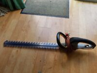 triton hedge cutter. 630mm double sided blade used 3 times so as new
