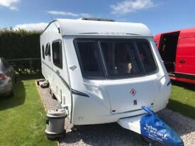 2007 twin wheel fixed bed tourer. Abbey Vogue 620