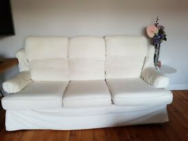 Sofa and matching Armchairs - Three Peice Suite