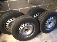 Vauxhall vivaro wheels and tyres 205/65/16 Renault traffic wheels tyres