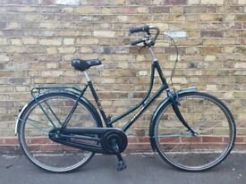 """(4139) 700c 22"""" DRESCO DUTCH STYLE TOWN BIKE TOURING COMMUTER CITY BICYCLE Height: 175-190 cm"""