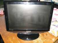 Portable Television- selling as spares and repair (see write up)