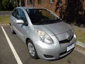 2010 Toyota Yaris Hatchback + dealer extras + VERY low mileage South Melbourne Port Phillip Preview