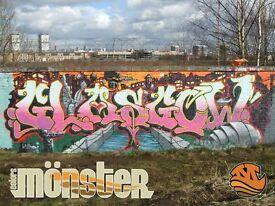 Graffiti & Mural Artist and Designer, GLASGOW, EDINBURGH, STIRLING, NATIONWIDE AND INTERNATIONAL.