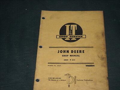 Original John Deere 2510 Manual