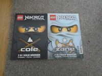 2 x Lego Ninjago books excellent condition