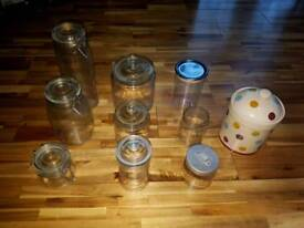 Collection of jars (not full sets)
