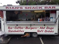14ft Mobile Catering Trailer Burger Van