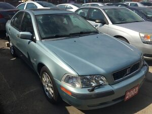 2003 Volvo S40 LOADED Leather Sunroof Alloy All Power $GAS SAVER