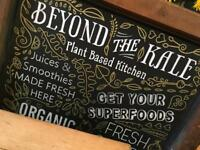 Chef and KPs Positions at our Vegan Cafes in Bath
