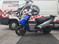 Piaggio nrg 50 with 70cc kit part exchange to clear