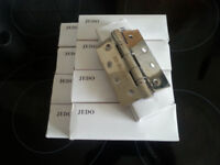 JEDO stainless steel ball bearing door hinges 10 pairs