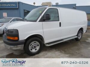 2016 GMC Savana 2500 CARGO VAN - **LOW KMS**