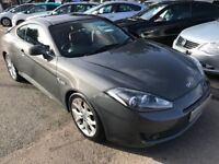2007/57 HYUNDAI COUPE 2.0 SIII 3DR GREY,SERVICE HISTORY,LOW MILEAGE,STUNNING LOOKS,DRIVES WELL